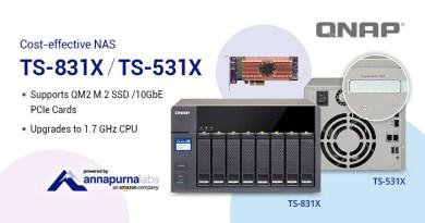 NAS TS-831X und TS-531X jetzt mit QNAP QM2 PCIe Erweiterung