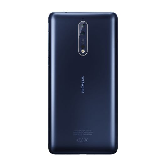 Nokia 8 Tempered Blue. Bild: HMD Global