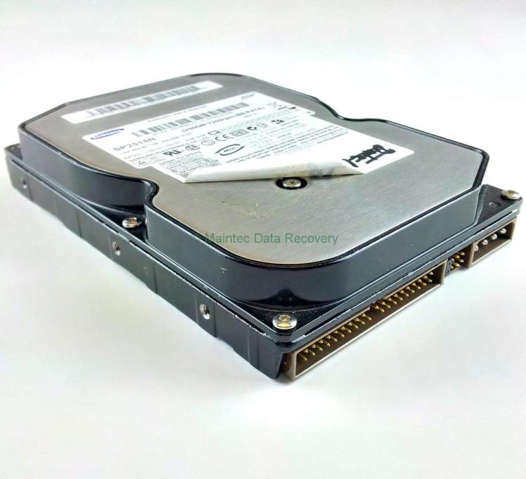 Vom Anwender geöffnete Festplatte