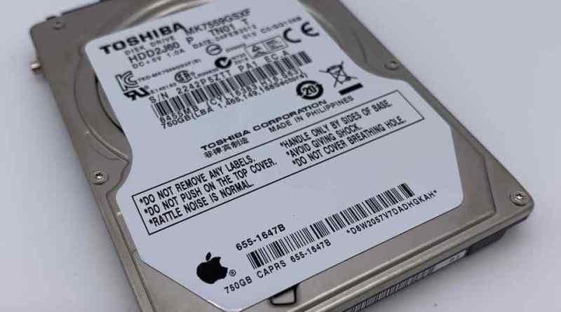 Von Mac OS X zu Lubuntu - Toshiba MK7559GSFX