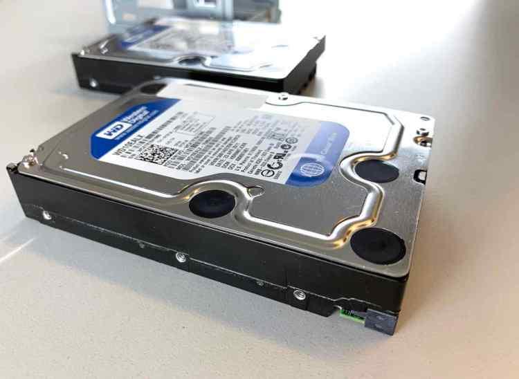 WD10EALX Festplatten die im RAID 0 Verbund konfiguriert waren