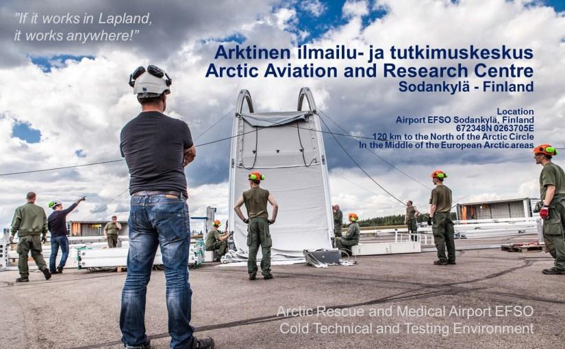 Sodankylän Arktinen ilmailu- ja tutkimuskeskus kehittämisympäristö