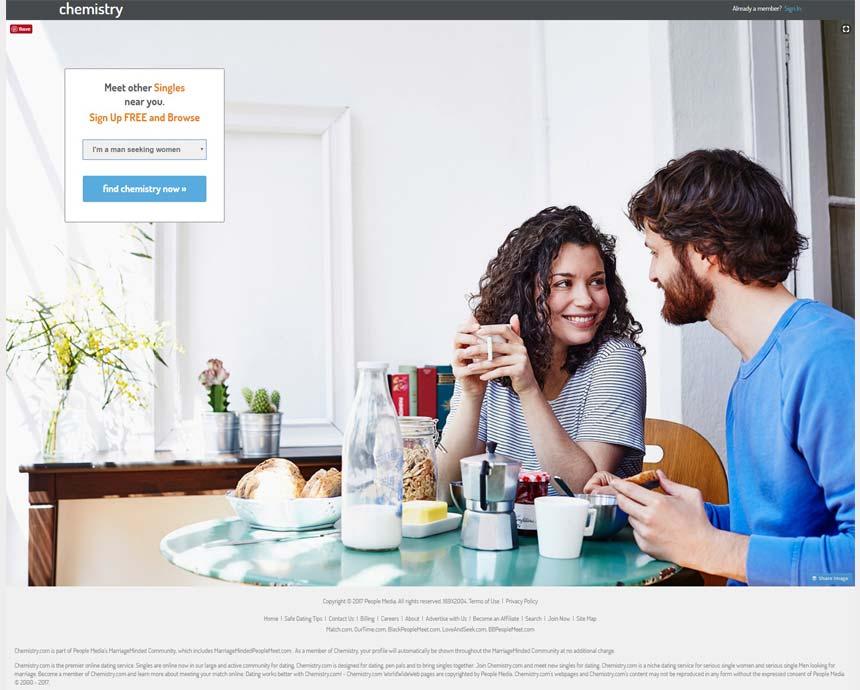 Chemistry.com home page