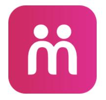 Moovz's dating app logo.