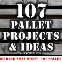 107 Proyectos e ideas con palets (1ª parte)