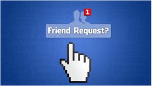 facebook friend request cancel