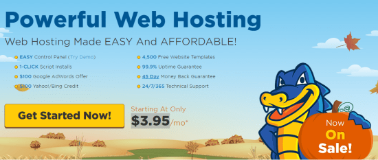 How To Start A Website With HostGator