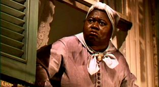 """The legendary """"Gone with the Wind"""" actress Hattie McDaniel"""