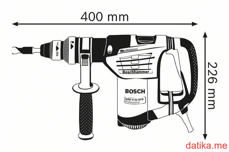 Buy Bosch GBH 4-32 DFR Čekić bušilica elektro-pneumatski
