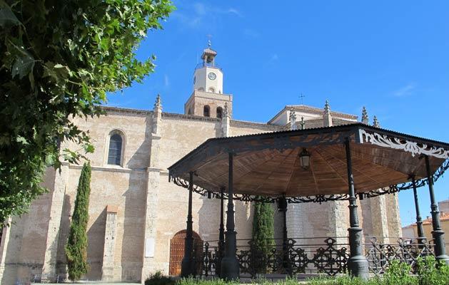 Santa María La Mayor, Coca.