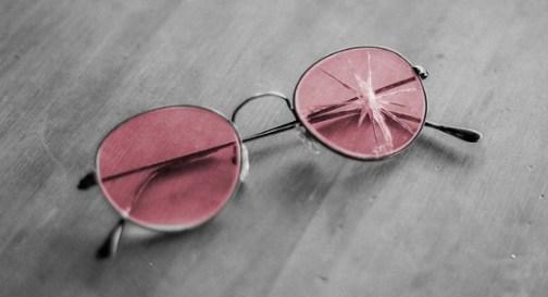 rosetintedglassescracked