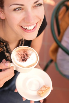 woman_mother_drinking_coffee_happy_alone_istock