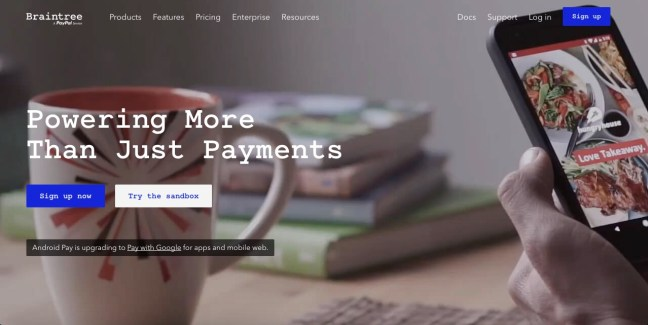 braintreepayments payment services