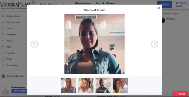 victoria milan girl profile