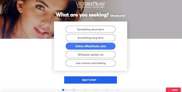 victoria milan preferences