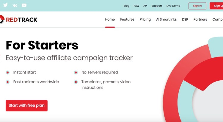 redtrack.io affiliate marketing tracker