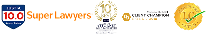 Boca Raton Personal Injury Lawyer Awards