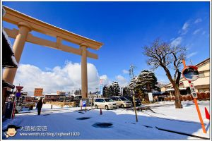[日本中部飛驒高山 DAY3-4]高山:櫻山八幡宮