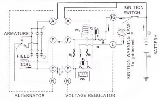 alternator wiring diagram bosch 2 way dimmer switch datsun 210 great installation of simple diagrams rh 22 studio011 de gm