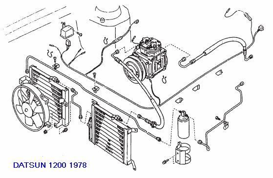 datsun 1200 ute wiring diagram