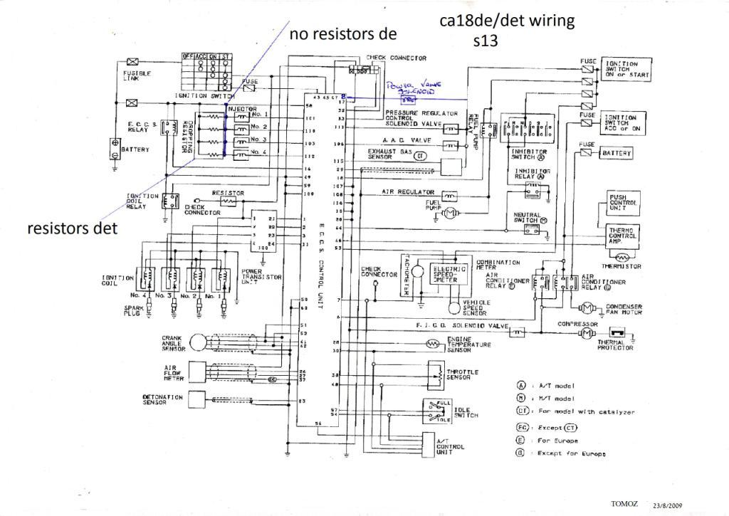 Ca18det Wiring Diagram Wiring Wiring Diagram And Schematics