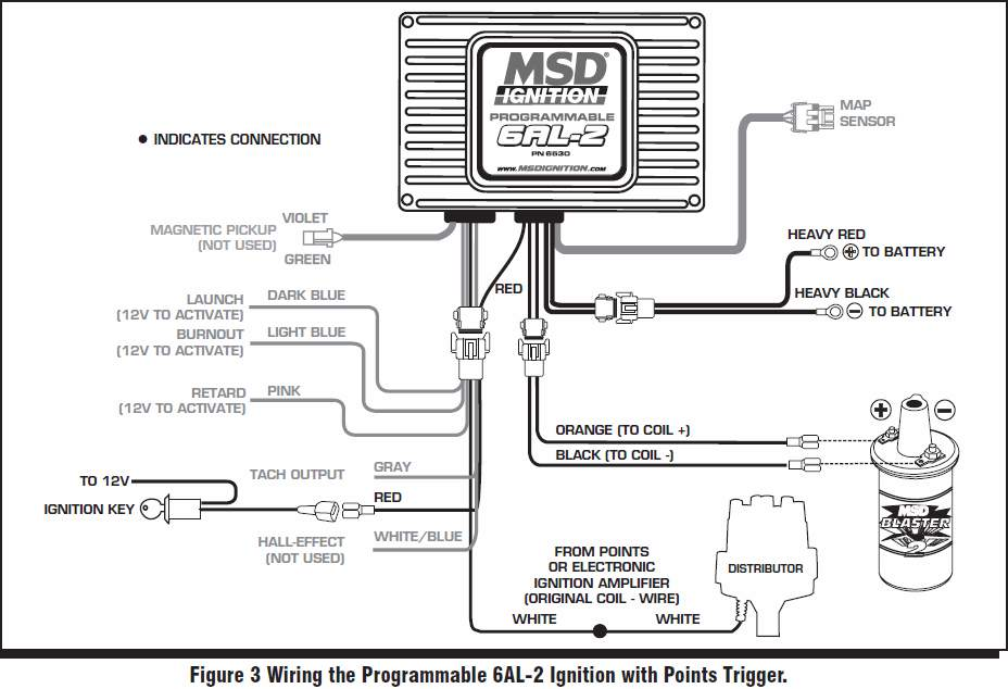 Msd Ford Ready To Run Distributor Wiring Diagram • Wiring