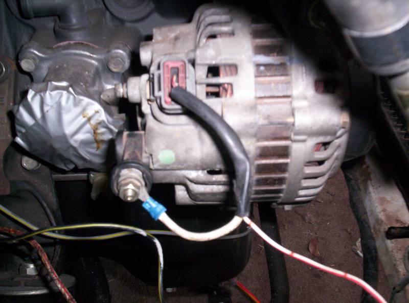 91 240sx S13 Ka24de Engine Wiring Ca Alternator Wiring Datsun 1200 Club