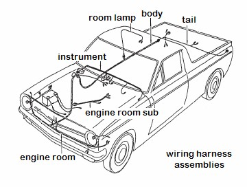 Datsun 1200 Wiring Harness : 26 Wiring Diagram Images