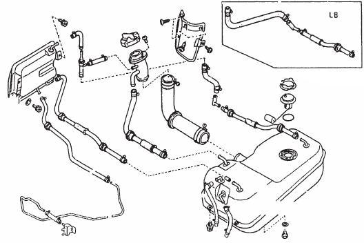 Fuel Tank Diagram : Datsun 1200 Club