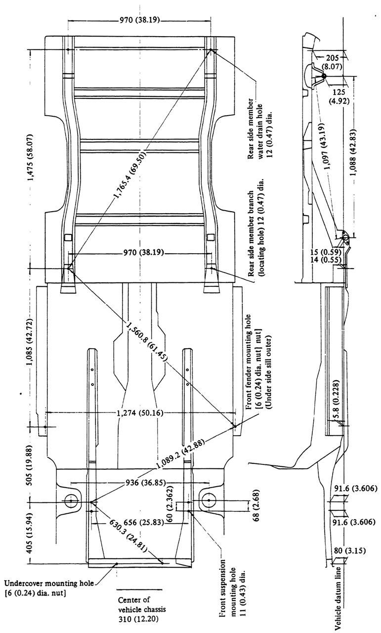 Ute Body Alignment : Datsun 1200 Club