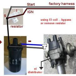 Msd 6al Wiring Diagram Hei Distributor 7 Way Bargman Plug Electronic Ignition Conversion - Factory Datsun
