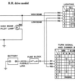 tech wiki headlight wiring datsun 1200 club datsun 510 headlight wiring diagram [ 1280 x 896 Pixel ]