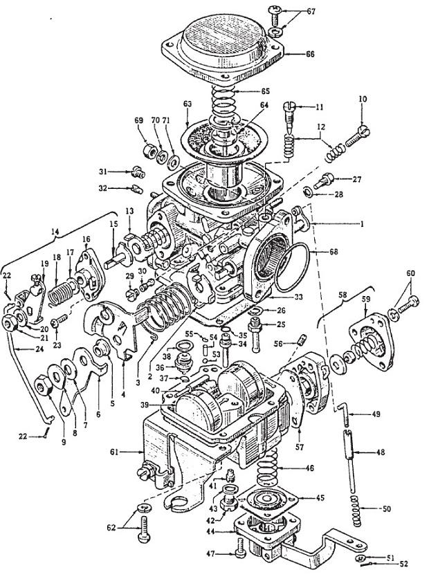 Mikuni BS32 : Datsun 1200 Club