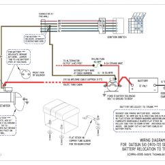 Battery Relocation Wiring Diagram 1998 Isuzu Trooper Stereo Re Bluebird510 Question On Ford Starter