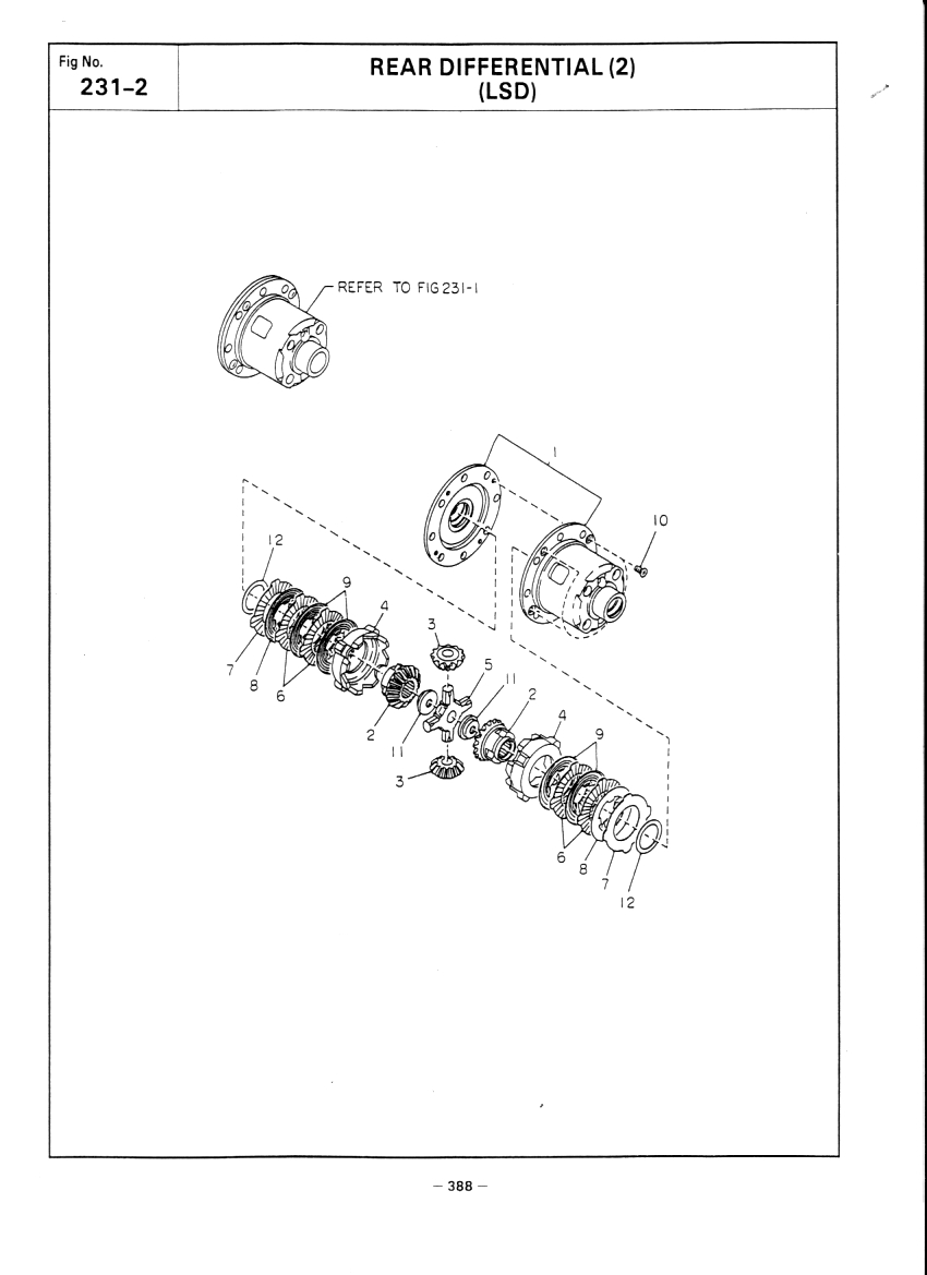 hight resolution of subaru r160 lsd exploded parts diagram