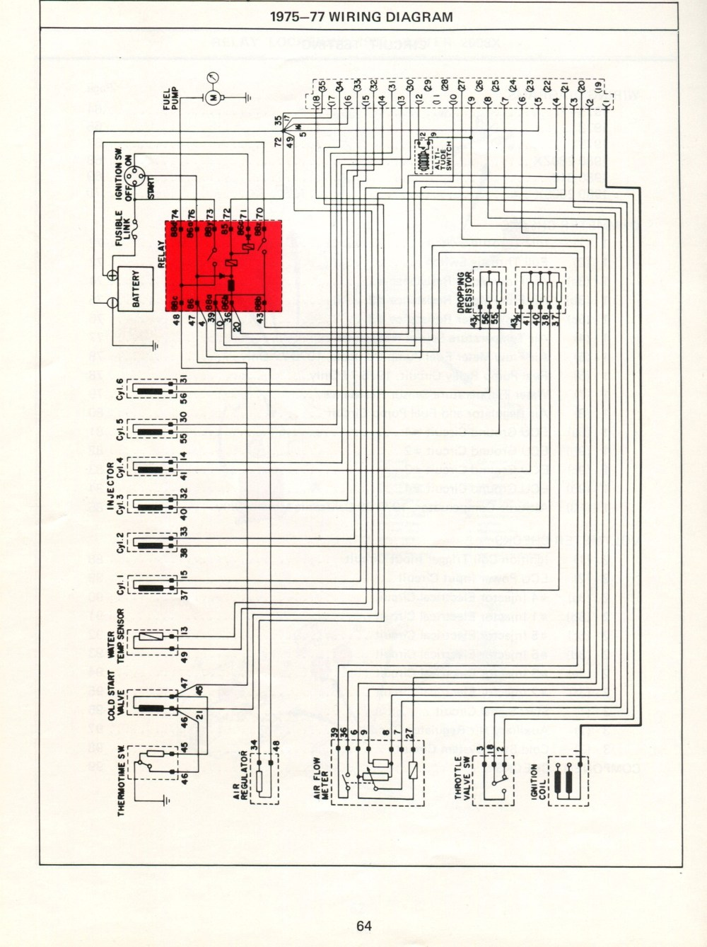 medium resolution of datsun electronic fuel injection wiring diagrams