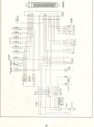 Datsun Electronic Fuel Injection  Wiring Diagrams