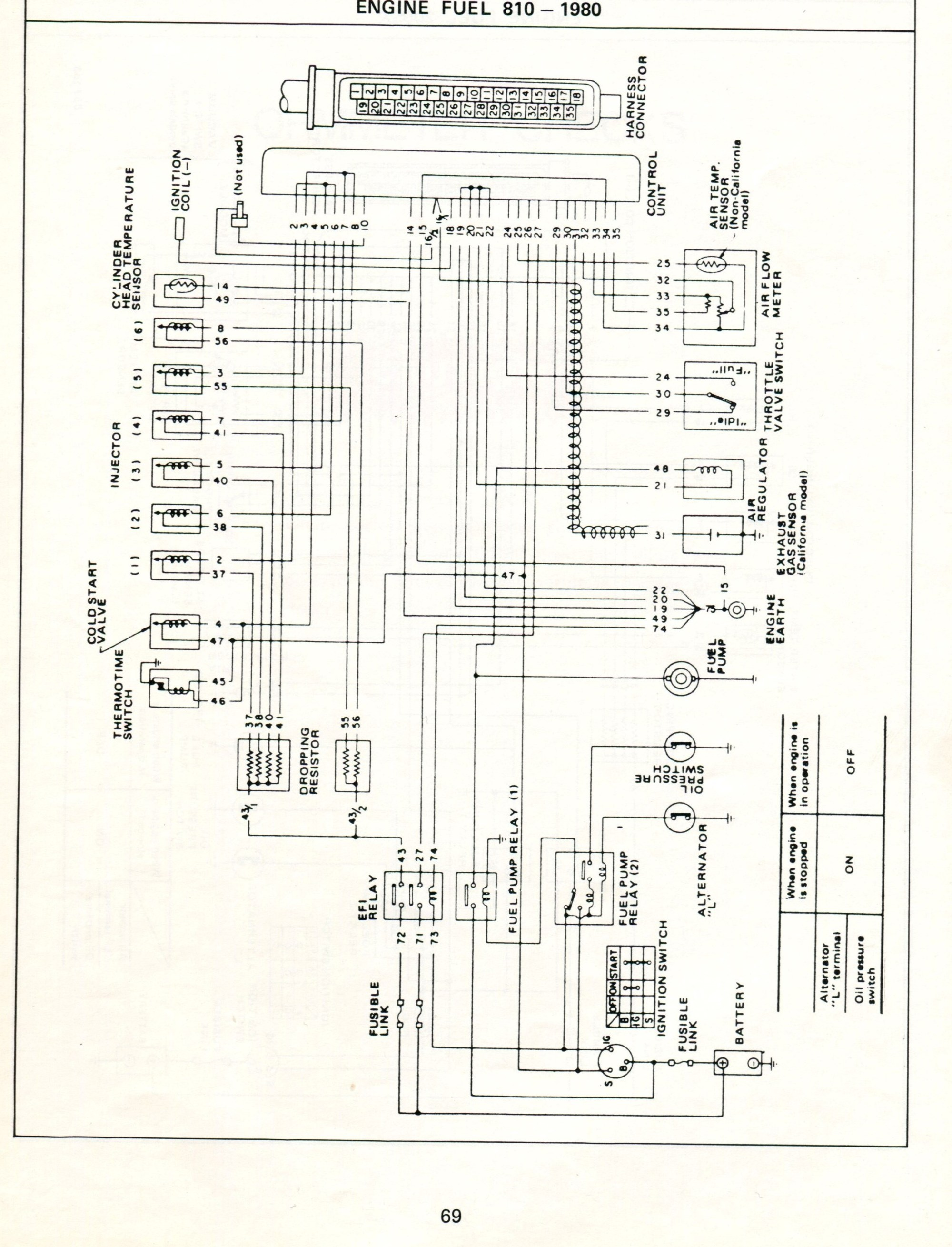 hight resolution of datsun electronic fuel injection wiring diagrams 280z 1976 wiring diagram 280z wiring diagram