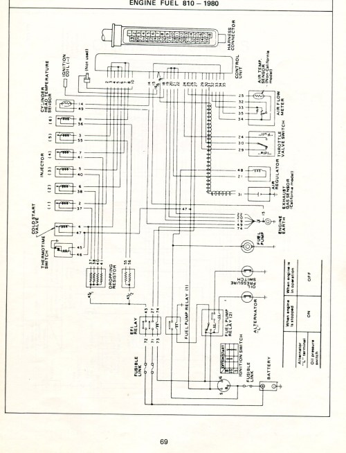 small resolution of datsun electronic fuel injection wiring diagrams