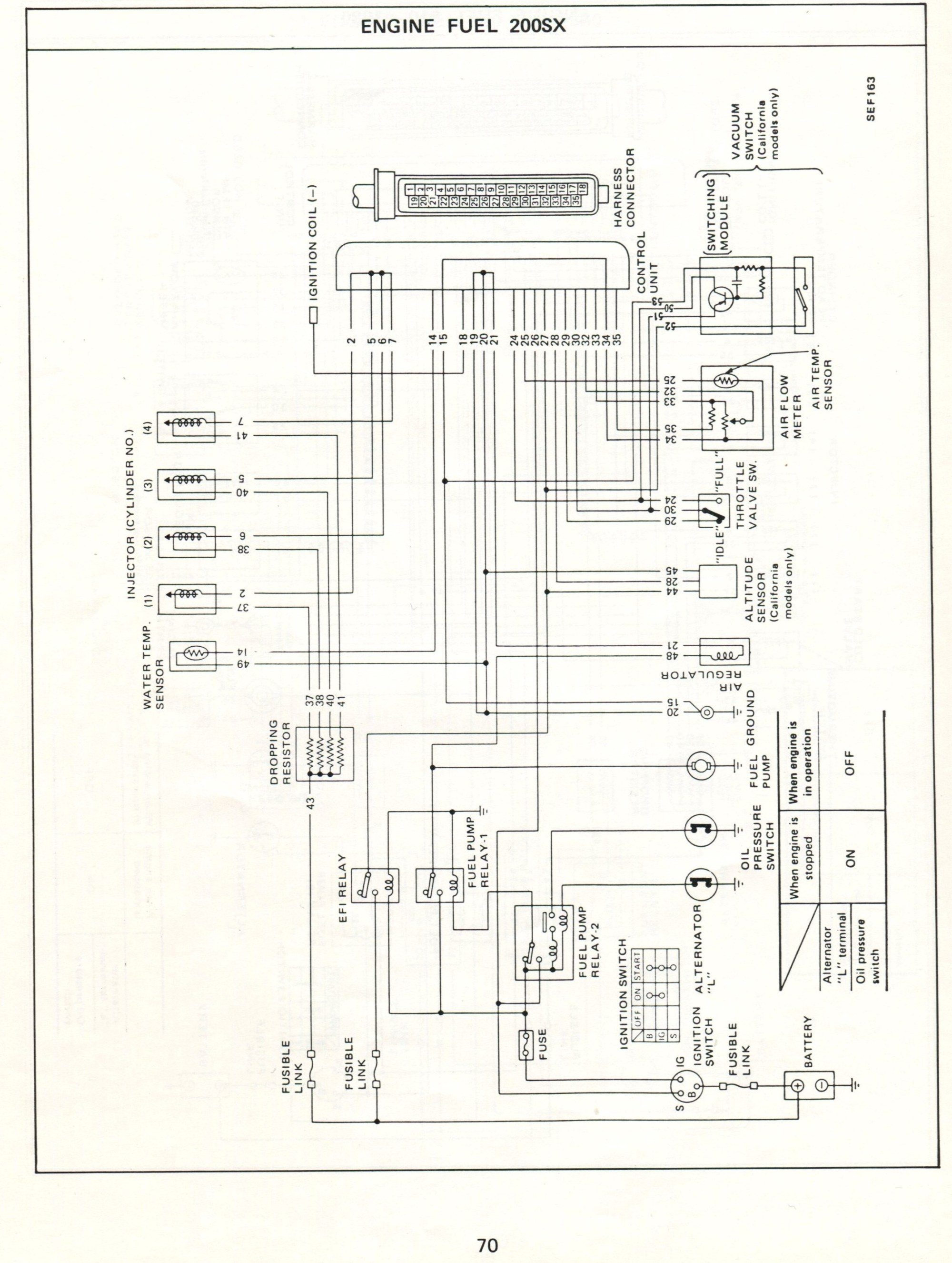 hight resolution of datsun electronic fuel injection wiring diagrams