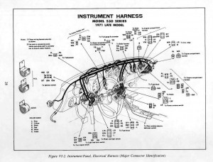 Wiring Diagrams For Cars And Truck Datsun 240z 1971 Fsm Supplement Dash Gauges Wiring Hvac