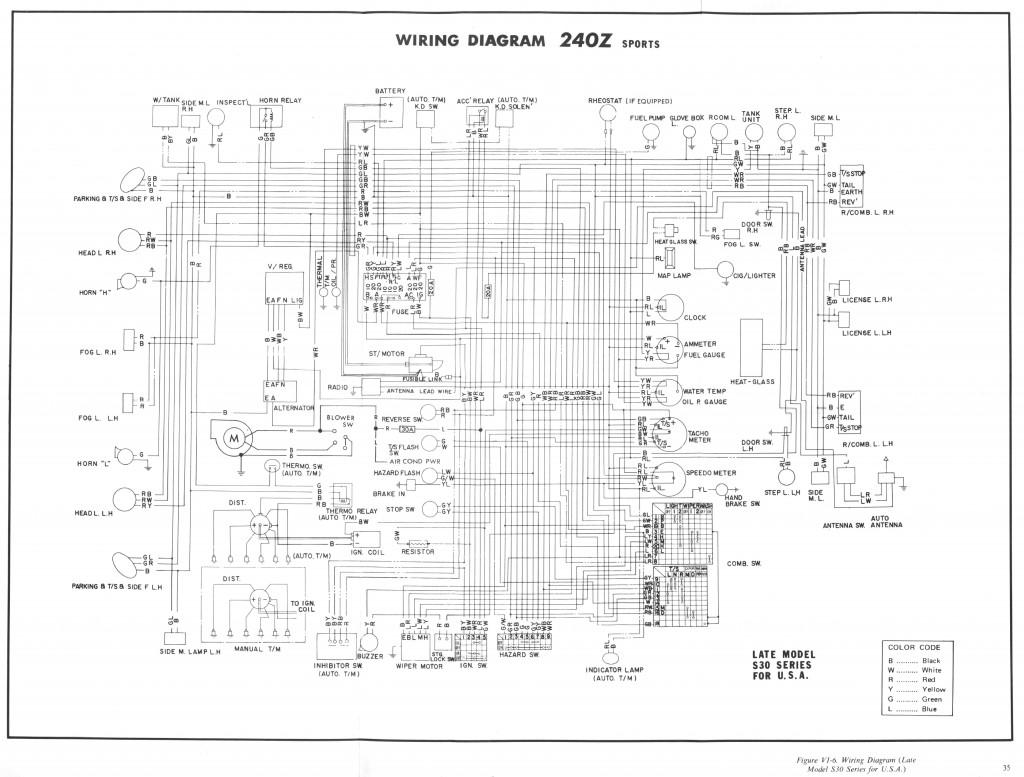 Datsun 240z Sport Fsm Supplement 34