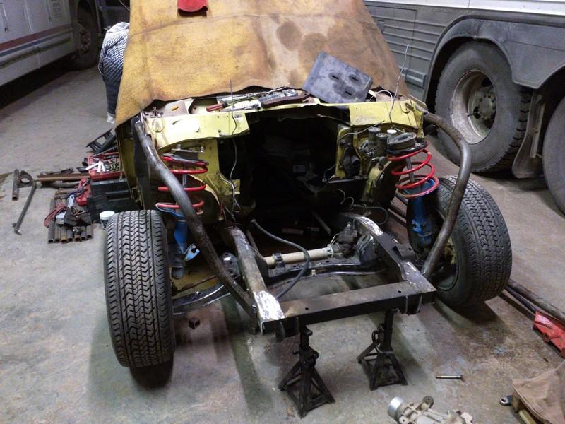 280z Wiring Diagram The Rat Bastard Vq Powered Datsun 620 Drift Truck