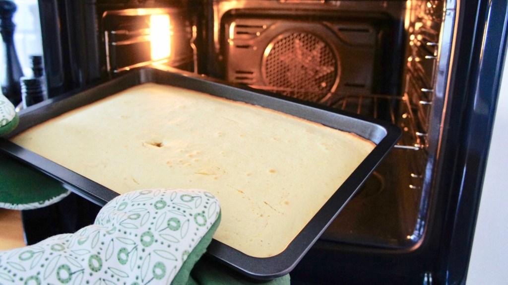 Veganer Orangenkuchen Ofen