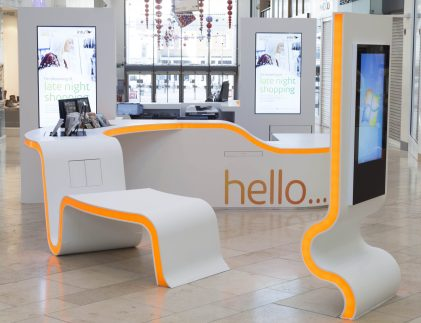 Customer Service Desk, Intu, Uxbridge
