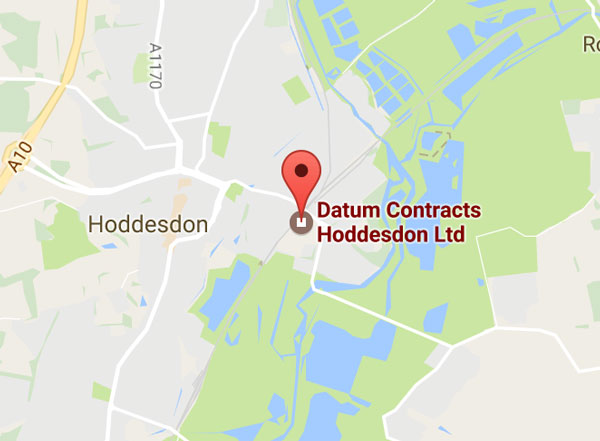 Map of Datum Contracts HQ