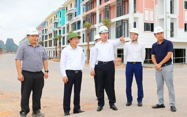 Đấy nhanh tiến độ xây dựng khách sạn Sonasea Vân Đồn Harbor City