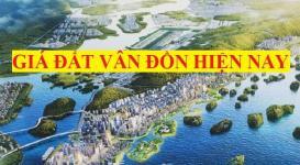 Thông tin bảng giá đất Vân Đồn Quảng Ninh hiện nay
