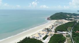 Kiểm tra tiến độ dự án khu du lịch sinh thái cao cấp Vân Hải Vân Đồn