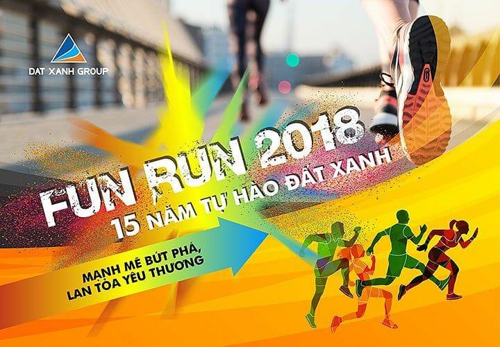 fun run 2018, 15 năm tự hào đất xanh, giang điền,